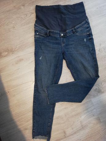 Spodnie jeansy ciążowe H&M r. L pasuje też na XL