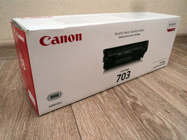 Картридж Canon 703 оригинал НОВЫЙ!