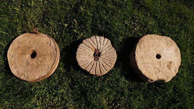 Жернова каменные ручная мельница камень