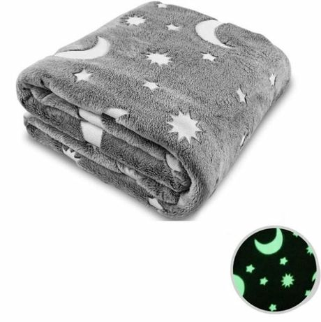 Плед светящийся в темноте Magic Blanket 150х200см