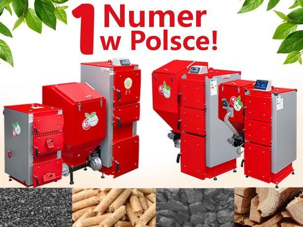 Kocioł - pellet, ekogroszek, węgiel 9 - 150kW DARMOWA DOSTAWA