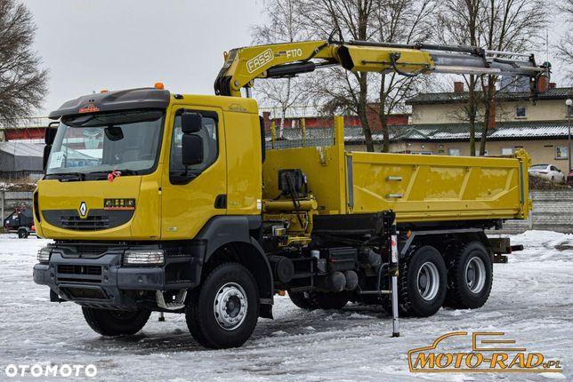Renault Kerax / 6x4 / Wywrot + Hds Fassi F170a / Hydroburta /