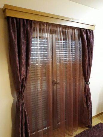 Cortinas e tapetes