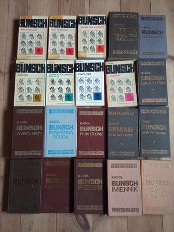 Karol Bunsh - zestaw 20 książek