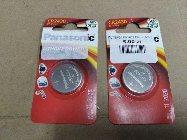Bateria guzikowa CR2430 Panasonic