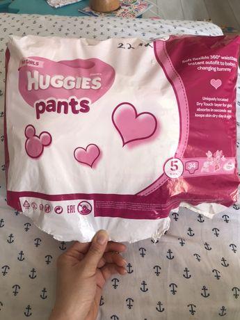 Памперсы Huggies pants 5 на 12-17 кг трусики ,