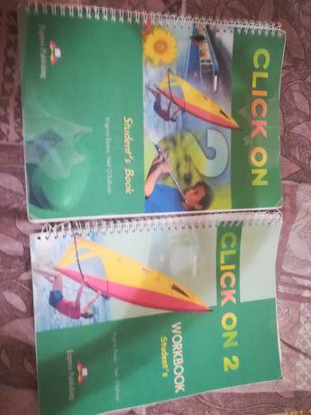 """Комплект  """"Click on """"  учебник и тетрадь"""" по английскому языку 6 класс"""