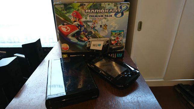 Konsola Nintendo Wii U 32GB czarna Salon Elektroniki Byk