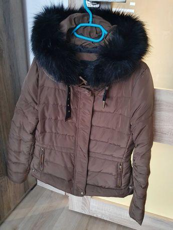 Kurtka zimowa damska Zara rozmiar L