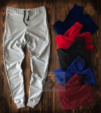Спортивные мужские весенние штаны. 5 цветов / 8 брендов. ТОП-качество!