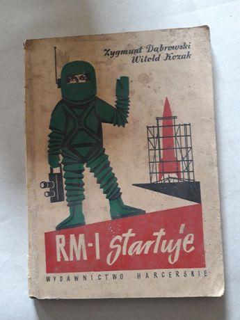 RM-1 startuje Dąbrowski,Kozak 1959r