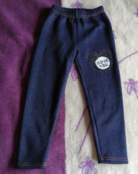 spodnie ocieplane 110
