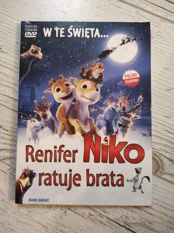 Renifer Niko ratuje brata film DVD