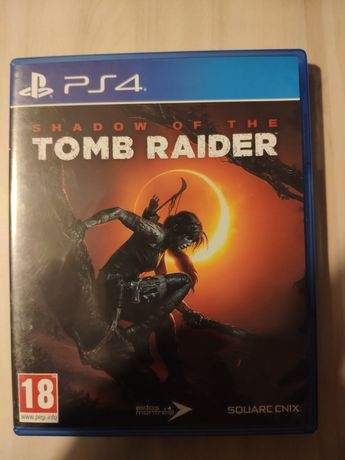 Shadow of The Tomb Raider PL płyta ps4 ps5 playStation 4 5 ps 4 ps 5