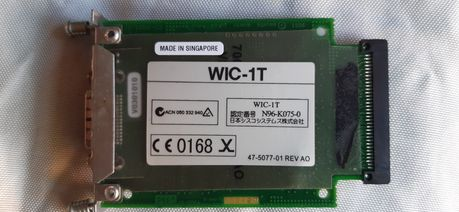 Serial module Cisco WIC-1T, модуль Циско