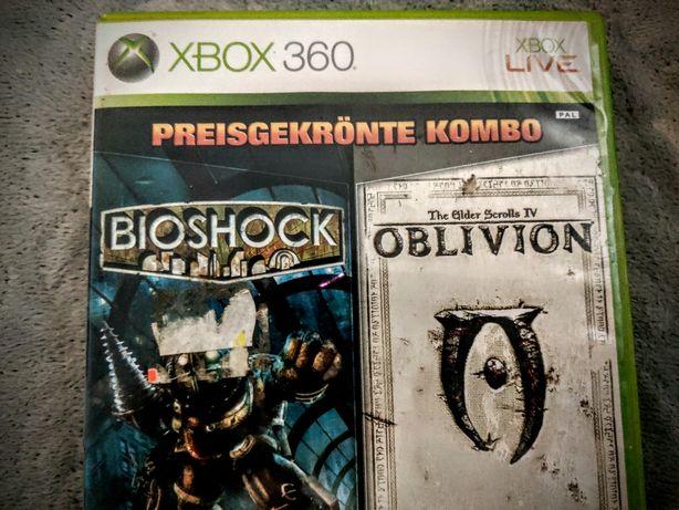 Gry xbox 360 bioshock i oblivion