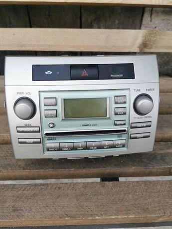 Radio CD odtwarzacz oryginalne Toyota Corolla verso 04-06r