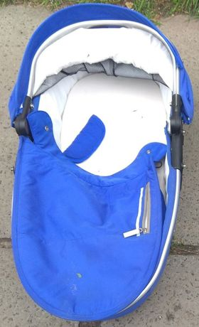 Синяя Люлька к коляске Х Lander без шасси