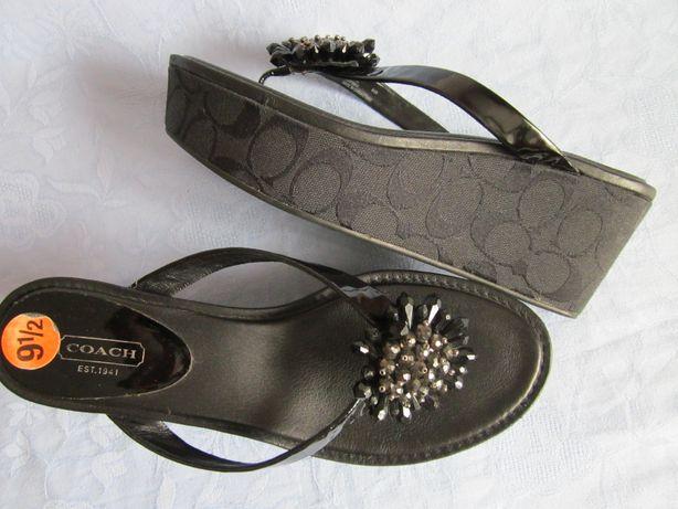 Coach japonki klapki sandały r 41