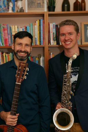 Дуэт саксофон и гитара