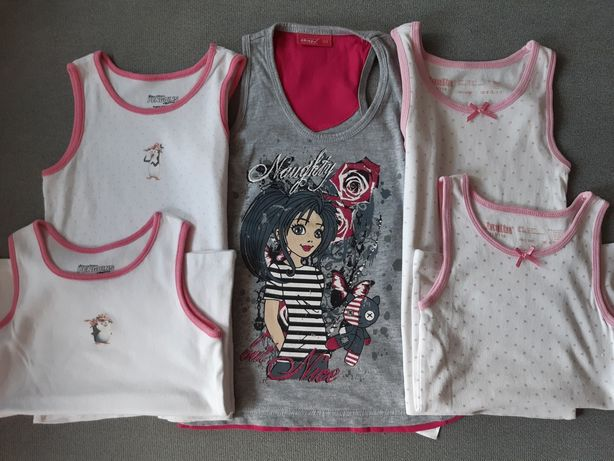 Koszulki , bluzki na ramiączkach Rozm. 110/116
