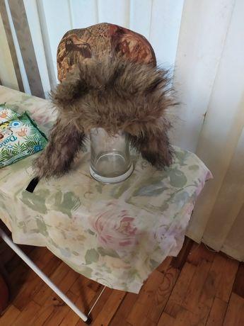 Шапка зимняя мужская, размер 58 новая