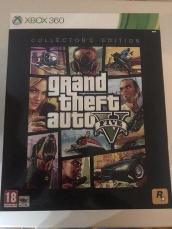 Grand theft auto 5 GTA V Collectors Edition Xbox 360