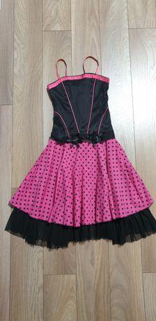 Платье в стиле ретро стиляги Сукня горох
