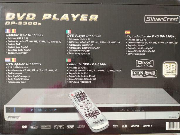Leitor DVD MP3 USB DivX CD
