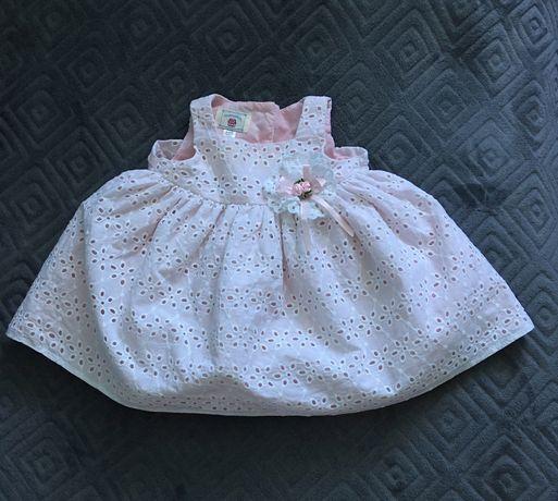 Sukienka dla dziewczynki 3-6 miesięcy