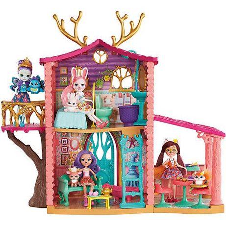 Enchantimals дом Данессы, куколки и питомцы