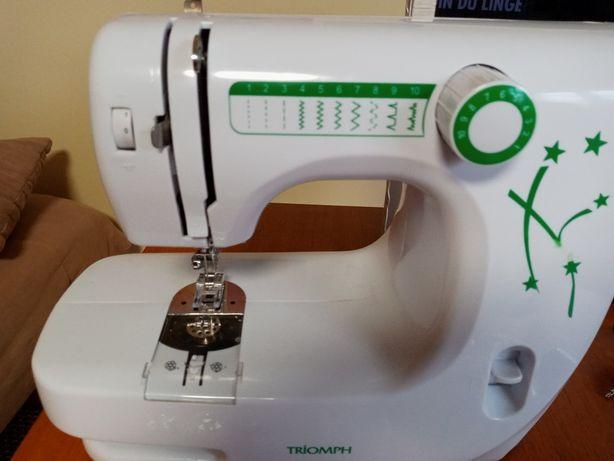 Niewielka i lekka maszyna do szycia Triomph