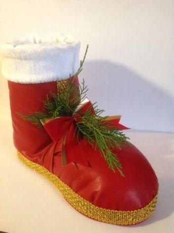 Новогодний, рождественский носок