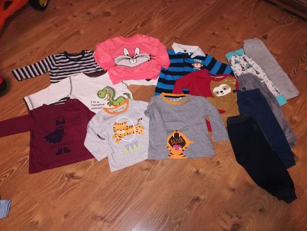 Bluzeczki chłopięce 68