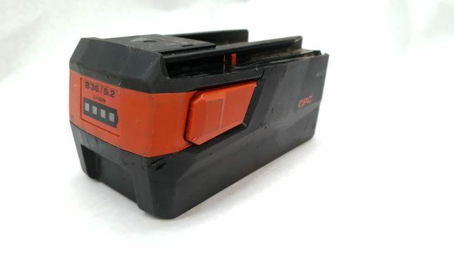 Bateria HILTI B36 5.2. CPC LI-ION sprawna, stan bdb. Do szlifierki