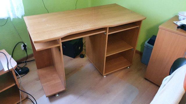 Oddam gratis biurko 120x60 - wysuwane półki