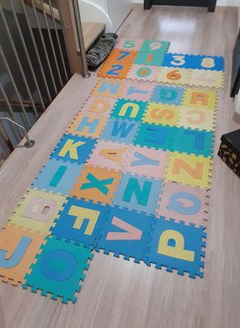 Mata Piankowa Puzzle, Alfabet + Cyfry