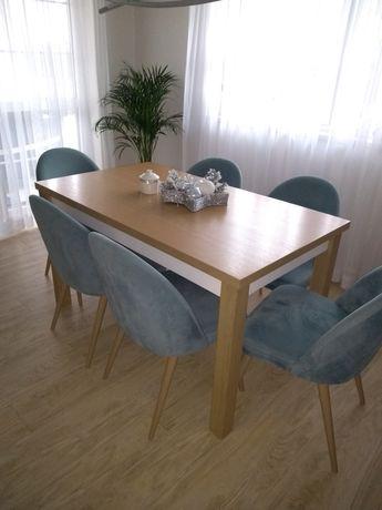 Stół dębowy rozkladany