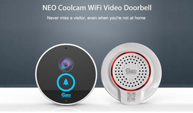 Coolcam iDoorbell wi-fi videodomofon kamera wi-fi smart home