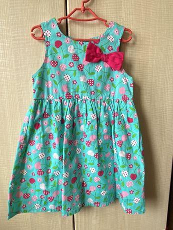 Платье хлопок летнее