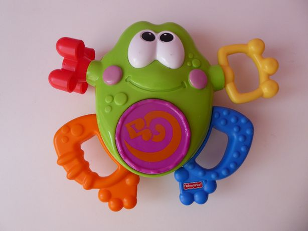 Żabka Fisher Price
