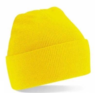 Czapka Czapki Beanie żółta Beechfield 20 sztuk 100 zł