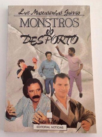 "Livro Desporto ""Os monstros do Desporto"" - c/o Novo"