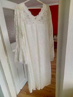 Biała sukienka roz. 50 wesele, komunia, impreza, itp.