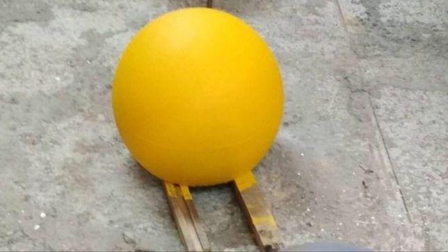 бетонные полусферы установка