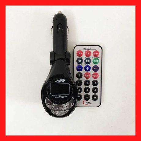 Трансмитер FM MOD P01D BOX автомобильный+ USB лампа  авто, Daewoo
