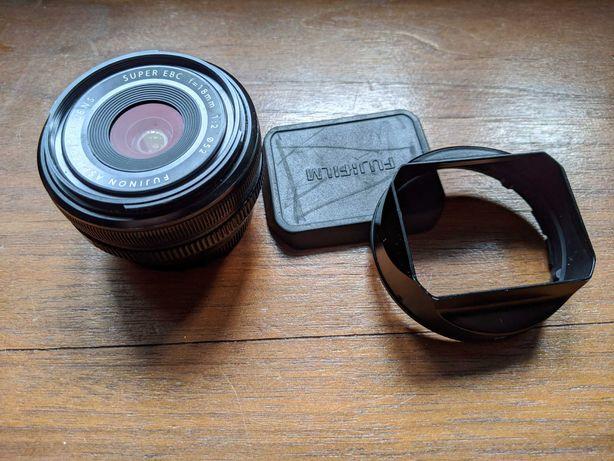 Obiektyw Fuji  Fujinon XF 18mm f/2, używany okazja do 31.07
