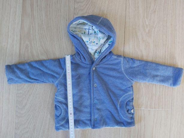 Bluza 0-3m dwustronna mięciutka