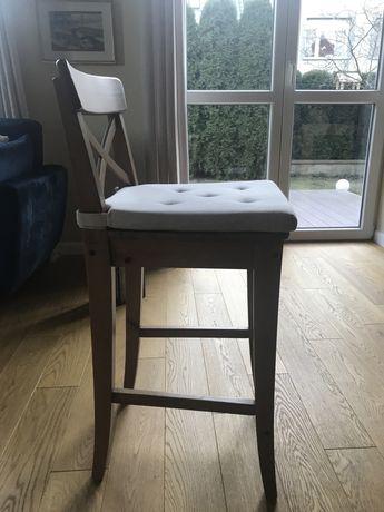 Krzesło, stołek barowy Ikea INGOLF 3 sztuki