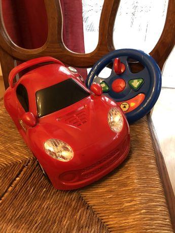 Smiki, samochód zdalnie sterowany, czerwony